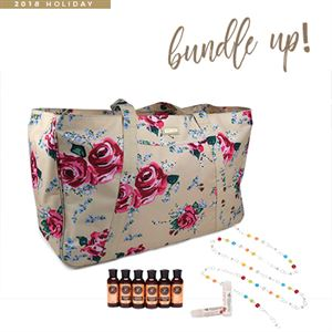 Picture of Youngevity GIGI HILL Bundle Bag - November Customer Special Antique Floral