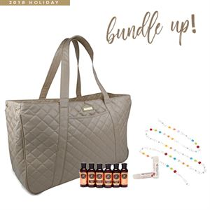 Picture of Youngevity GIGI HILL Bundle Bag - November Customer Special Tan Quilt